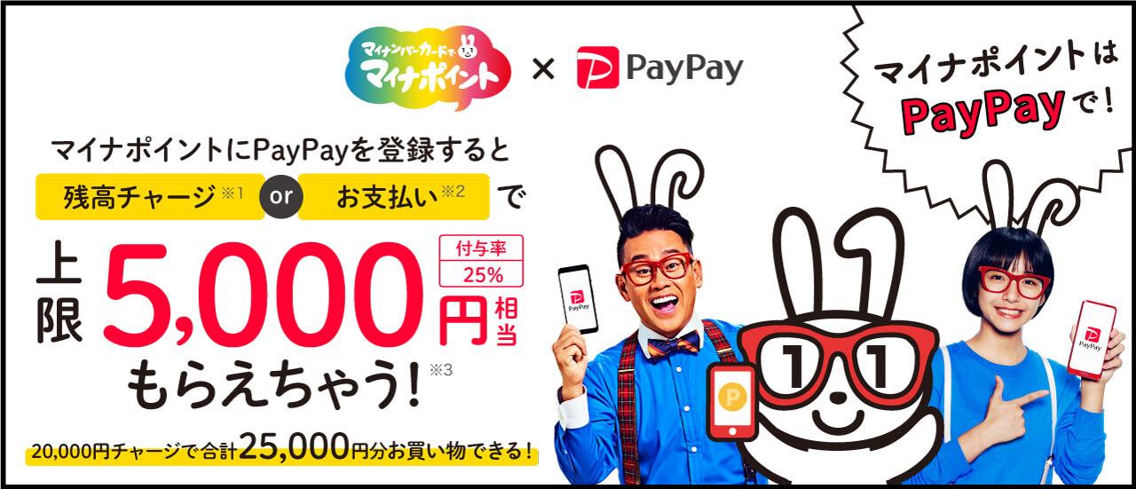 PayPayでマイナポイント