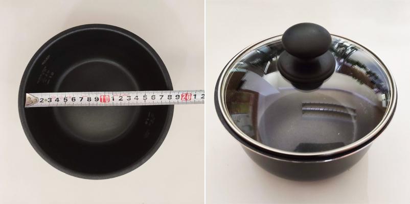 圧力鍋内なべ