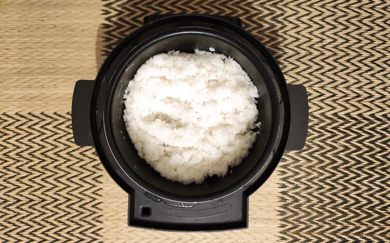 KPC-MA2の炊飯