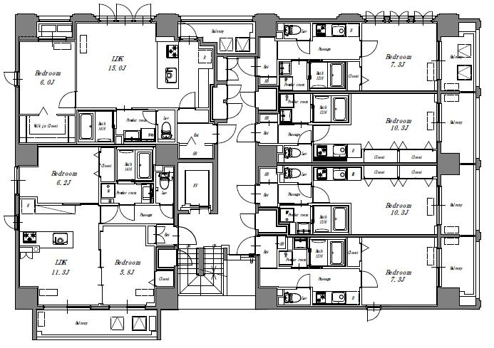 リベルタ3-11階