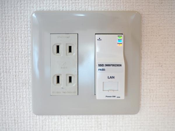 LAN型wifi設備