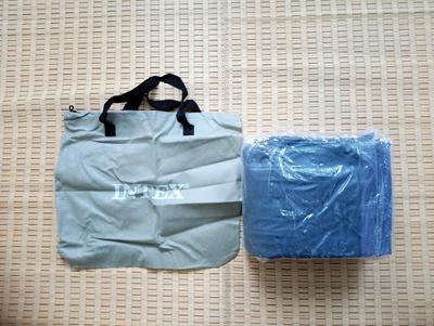 エアーベッド袋