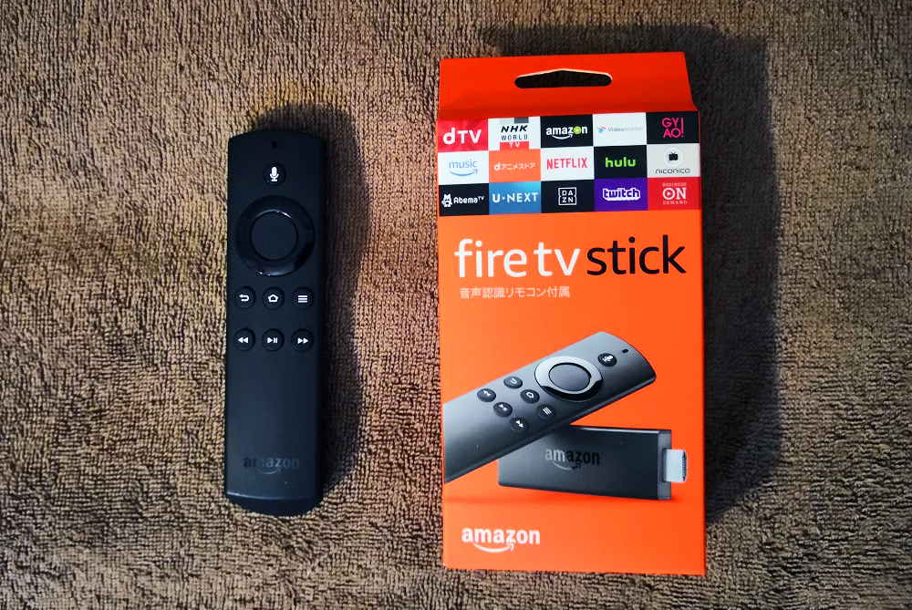 amazon fire tv stickリモコン