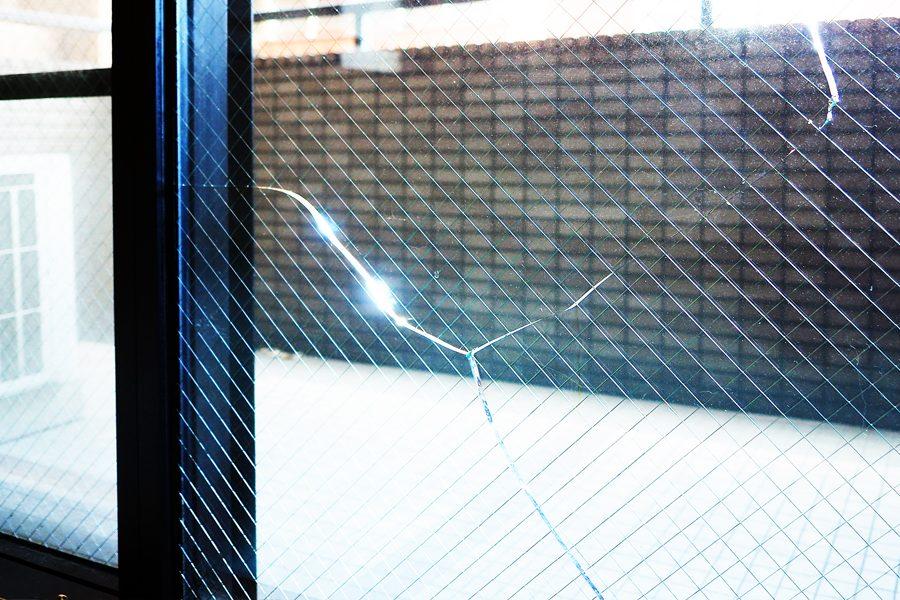 網入ガラス