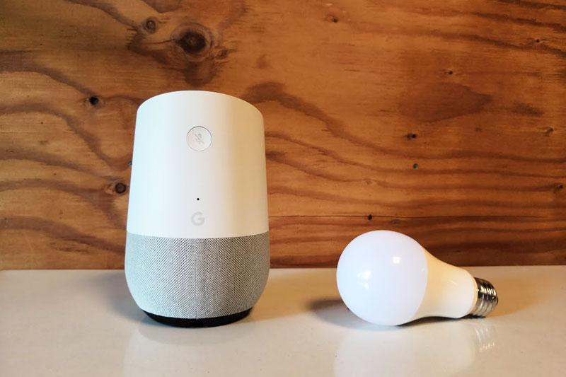googlehomeとスマートLED電球