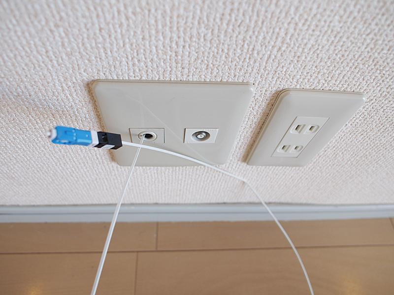 光ケーブル改装物件