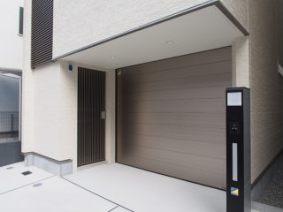 徳川園の家+ガレージ